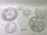 Misc. Glass Dishes, Cabridge Caprize