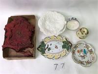 Cake Plate Bundt Cake Dish, Pitcher, Mikasa +