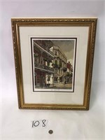New Orleans Signed & Numbered Picture