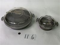 "2 Guardian Service Wear (12"" & 7"") with lids"