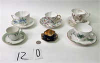 6 Cup & Saucer Sets