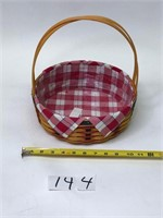 2001 Longaberger Basket with insert