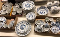 Large Lot of Blue Danube Dishes