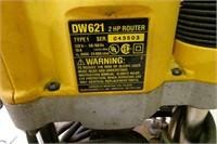 DeWalt 2Hp Router w/ Laser Router Plate+