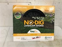 No Dig Landscaping Edging 20' Open Box