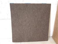 Box of Peel and Stick Carpet Squares-Espresso