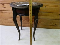 "Antique Plant Stand - Approx  20"" tall & 15"" wide"