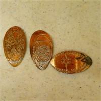 Flatten Pennies - some souvenir