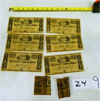 Wooden Nickels, Tokens, Pennies & Political Bills