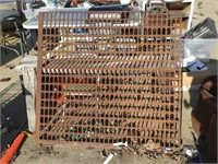 Large grate, 48 1/2 x 45 1/2