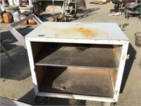 Cart on casters, 36 x 30 x 19 1/2