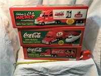 Coca-Cola holiday inn Mickey Mouse semi's