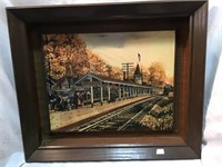 Blueridge train station picture, 19 x 16