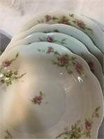 Bavaria celery dish and Austria berry bowls some