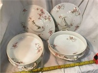 Haviland Limoges Two covered dishes