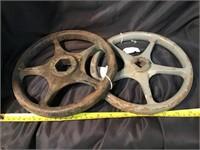 Cast iron valve handles