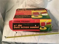 Central pneumatic 6 inch air dual action sander