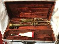 Olds ambassador Trumpet with case
