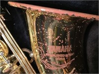 Yamaha saxophone, Scratches, Model YAS52