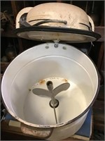 Vintage porcelain washing machine