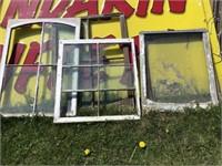 Five broken windows