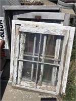 Windows and screened window