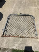 Galvanized garden gate 39 x 46