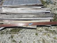 Group of wood siding