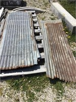 Galvanized for gated metal sheets, rusting