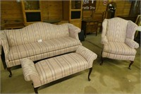 4 Piece Couch, Chair+