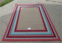 """5'3"""" x 7' Outdoor/Indoor Area Rug"""