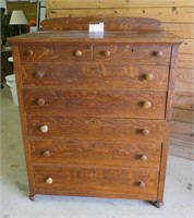 Antique Dresser - 7 Drawer