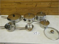 Pots & Pans Wearever some with strainer lids