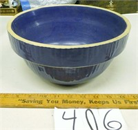 Blue Mixing Bowl Stonewear