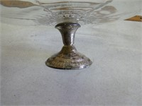 Sterling silver cake plate