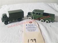 Dinky – 2 Trucks