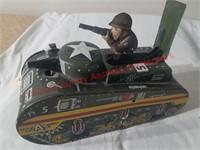 Marx Tin Wind Up Tank