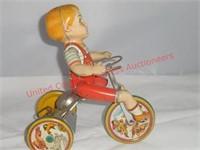 """Unique Art """"Kiddie Cyclist"""""""