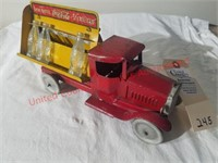 1930's Metal Craft Vintage Coca-Cola Truck