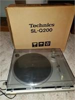 Technics Record Player