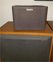 Sony Stereo System & Cabinet