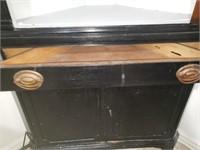 Black Corner Cabinet