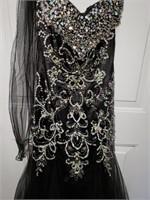 Black Prom Dress - Size 10