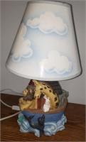 Noah's Ark Lamp