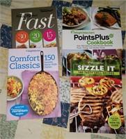 Weight Watchers Cookbooks & Lenox Cookie Press