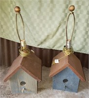 Birdhouse Lamps