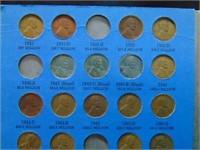 1909-1970 Lincoln Penny Folders