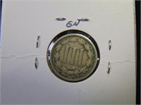 1870 3 Cent Nickel