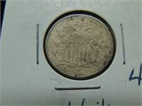 1866 Shield Nickel