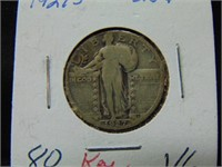 1927S Standing Liberty Quarter